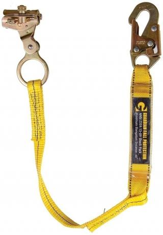 Guardian Fall Protection 01503 Rope Grab with Lanyard
