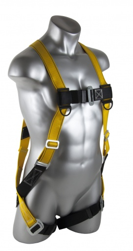 Guardian Fall Protection Velocity Harness with Pass-Thru Leg Straps