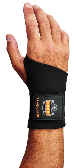 Ergodyne ProFlex 670 Ambidextrous Single Strap Wrist Support