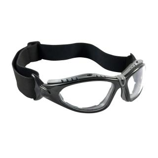 Bouton Fuselage Clear Interchangeable Temple Safety Glasses