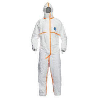 DuPont Tyvek 800J Coverall with Attached Hood