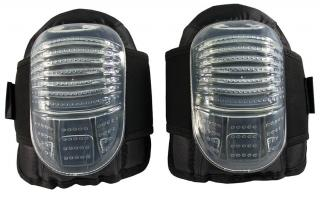 PIP Clear Flat Cap Gel Knee Pads