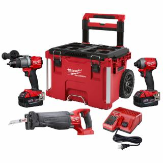 Milwaukee M18 FUEL 3 Tool Combo Kit