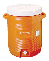 Rubbermaid Water Coolers- 5 and 10 Gallon
