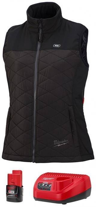Milwaukee M12 Heated Women's AXIS Vest Kit - Black