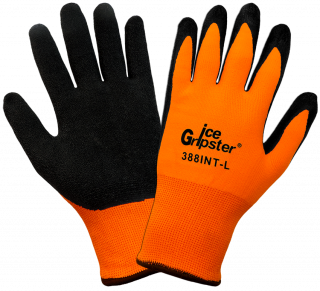 Ice Gripster Water Repellent Coated Cold Weather Gloves (12 Pair)