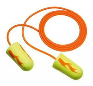 3M E-A-Rsoft Yellow Neon Blasts Earplugs