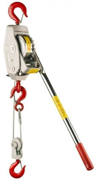 Lug-All Cable Hoist with Rapid Lowering