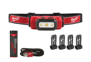 Milwaukee USB Rechargeable Hard Hat Headlamp