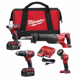 Milwaukee M18 4 Tool Combo Kit