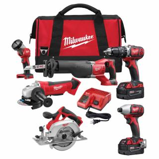 Milwaukee M18 6 Tool Combo Kit