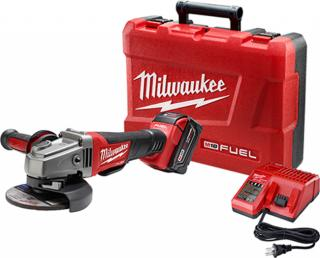Milwaukee M18 FUEL 4.5/5 Inch Grinder, Paddle Switch No-Lock Kit