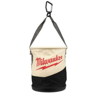 Milwaukee Canvas Utility Bucket with Pockets