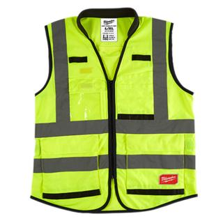 Milwaukee Hi-Visibility Performance Vest-Yellow