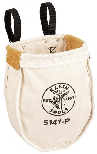 Klein Tools 5141P Large Canvas Utility Bag with Inside Pocket