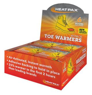 Occunomix Hot Rods Toe Warmer Heat Packs (Case of 40)