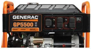 5500 Generac GP Series Portable Generator