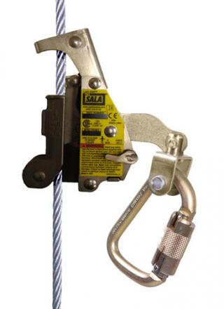DBI Sala Lad-Saf Wire Rope Grab with Carabiner