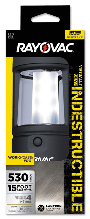 Rayovac Sportsman Virtually Indestructible 400 Lumen 3D LED Lantern
