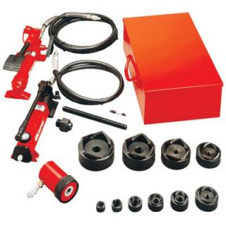 KOH540A Gardner Bender Slug-Out Hydraulic Knockout Set with Hand Pump