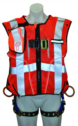 7018SMO FallTech High-Vis Vest Harness