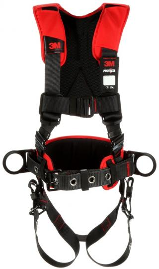 Protecta Comfort Construction Style Positioning Harness with Pass-Thru Chest