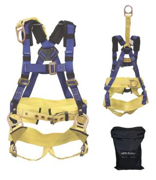Elk River Oil Rigger's 4 D-Ring Harness with Storage Bag