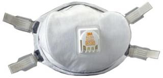 8233 3M N100 Particle Respirator