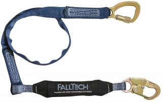 FallTech 8241 WrapTech Tie Back 6 Foot Single Leg Lanyard