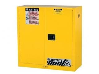 Justrite Sure-Grip EX Flammable Safety Cabinet - 30 gal - MC Doors