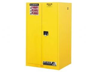 Justrite Sure-Grip EX Flammable Safety Cabinet with Manual Doors (60 Gallon)