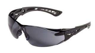 Bolle Rush+ Safety Glasses with Smoke Lens