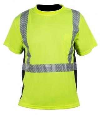 ML Kishigo Black Series Premium Class 2 Hi Viz T-Shirt