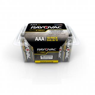 Rayovac Alkaline AAA Batteries - 18 Pack