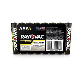 Rayovac Alkaline AAA Batteries - 8 Pack