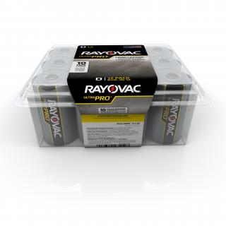 Rayovac Alkaline D Batteries - 12 Pack