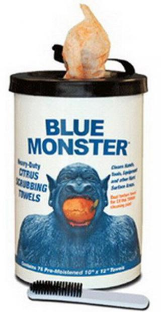 Blue Monster Towels - 75 Pack