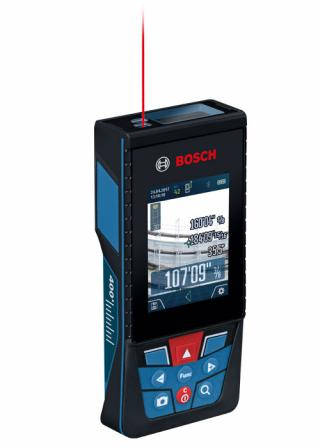 Bosch Blaze Outdoor 400 Ft. Connected Lithium-Ion Laser Measure with Camera