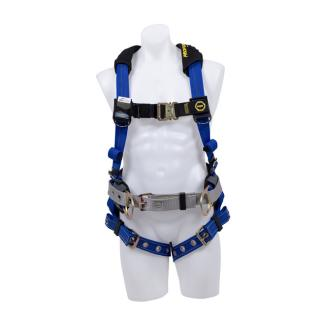 Werner ProForm F3 Construction Fall Protection Harness with Tongue Buckle Legs