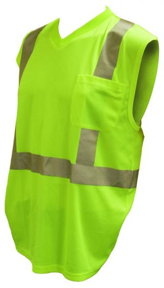 Cordova Safety Cor-Brite Hi-Vis Class 2 Sleeveless Shirt