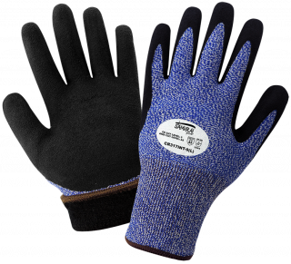 Samurai Glove Insulated Water Repellent Dipped Gloves