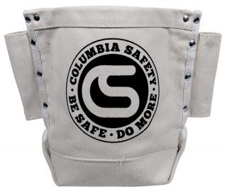 Columbia Safety Canvas Bull-Pin and Bolt Bag