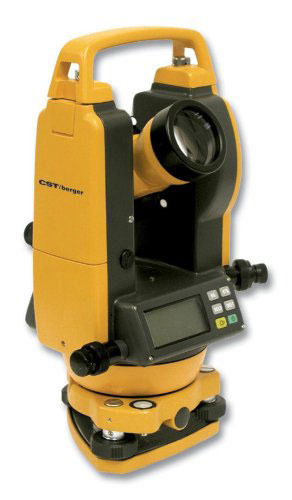 CST/Berger 5 in Digital Theodolite Transit with Vertical Tilt Sensor
