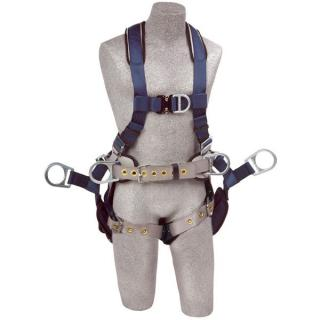 DBI Sala ExoFit Tower Climbing Harness with Tongue and Buckle Leg Straps