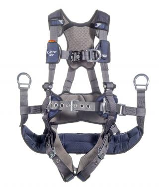 DBI Sala ExoFit NEX Tower Climbing Harness with Tongue and Buckle Leg Straps
