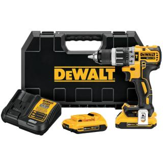 DeWALT 20V Max XR Lithium Ion Brushless Compact Hammerdrill Kit