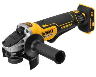DeWALT 20V MAX XR Flathead Paddle Switch Small Angle Grinder with Kickback Brake (Tool Only)