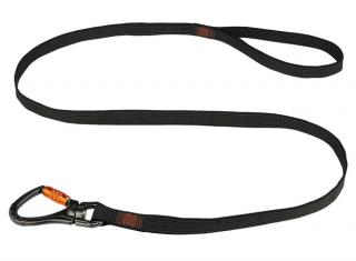 Ergodyne Squids 3129 Double-Locking Single Carabiner with Swivel 40 lb Tool Lanyard