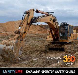 Safety LMS Excavator Operator Online Safety Course