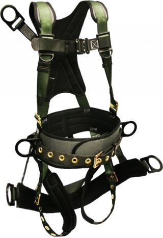 French Creek STRATOS Full Body Oil Derrick Harness